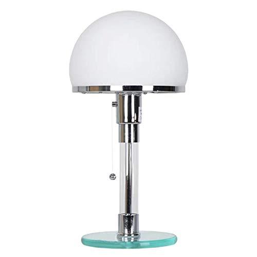 Lámpara de mesita de noche, luces de escritorio, dormitorio, mesita de noche, lámparas LED de vidrio, accesorios, mesita de noche, lámpara de escritorio, sala de estar, habitación para niños, oficina