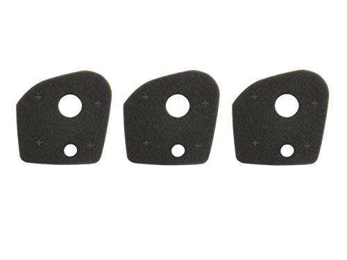 N/A Schaumstoff-Luftfilter 3er-Set passend für Husqvarna 333R 335R 535RX 537337201 Freischneider