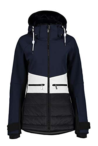ICEPEAK Damen ELY Softshell Jacke, dunkel blau, 40