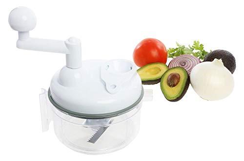 Buy Discount OKSLO Salsa maker, food chopper, mixer and blender - manual food processor (sc-105w)