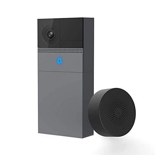 SXXYTCWL 1080P WiFi Timbre inalámbrico de vídeo Portero eléctrico a Prueba de Agua la cámara del teléfono al Aire Libre Inicio Timbre de la Puerta de Ministerio del Interior jianyou