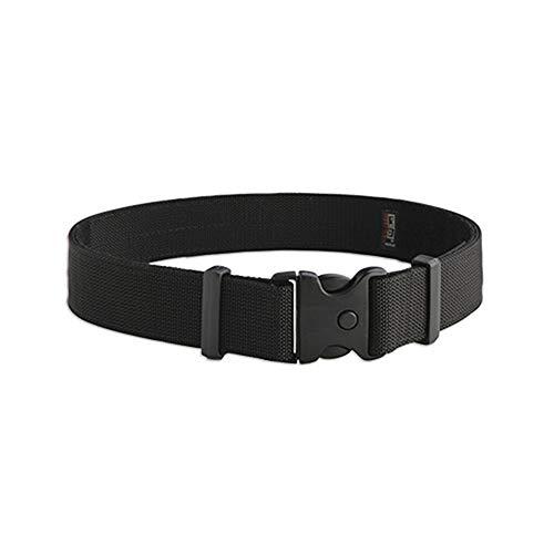 Uncle Mike's Kodra Nylon Web Deluxe Duty Belt (Large, Black)