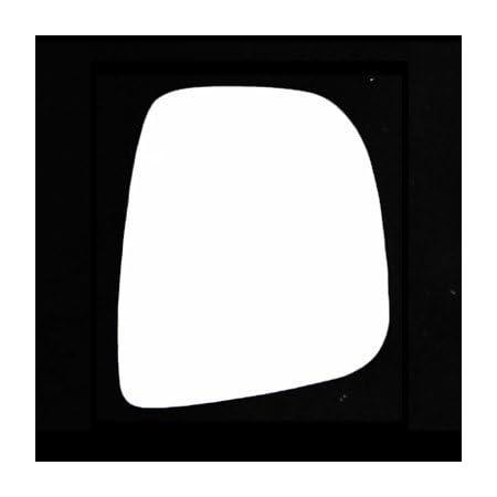 Left Passenger side Flat Wing mirror glass for Citroen Berlingo 2008-12 plate