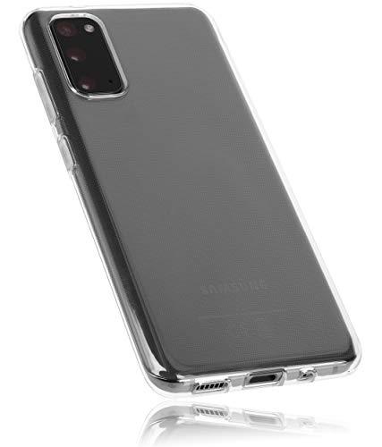mumbi Hülle kompatibel mit Samsung Galaxy S20 Handy Hülle Handyhülle, transparent