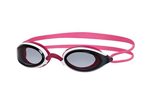 Zoggs Gafas de natación, Adultos Unisex, Blanco/Rosa/Humo, una Talla