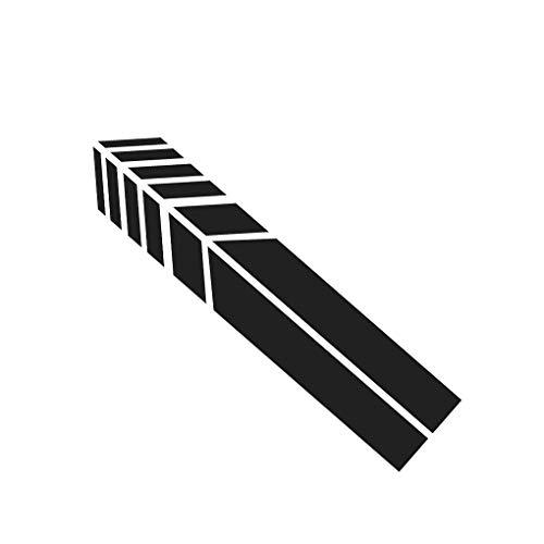 rongweiwang Auto Abziehbild Aufkleber Reflektierende Rück Abziehbild Auto Aufkleber Spiegel-Auto-Abziehbild-Verpackungs-Aufkleber Motorrad-Dekor-Verpackungs-DIY