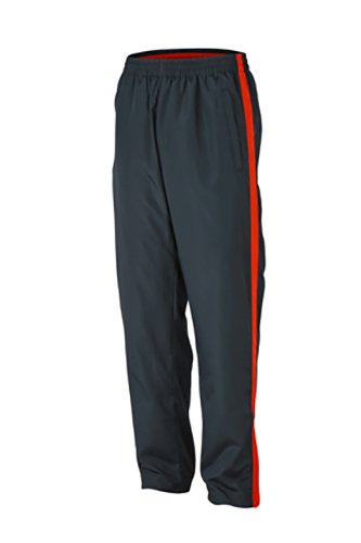 2Store24 Men's Sports Pants in Iron-Grey/Grenadine Taille: XXL