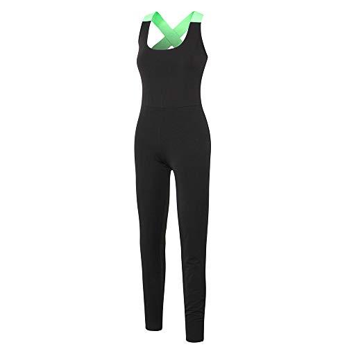 Mulheres yoga macacão de secagem rápida sem encosto respirável one piece calças esportes treino de fitness ginásio sportswear