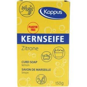 Kappus Savon de Marseille lemon pure Kernseife mit Zitrone in Faltschachtel 3 x 150 g