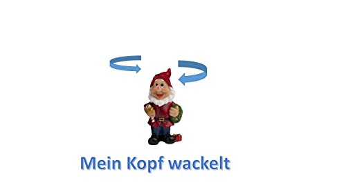 Unbekannt Wackel Gartenzwerg -
