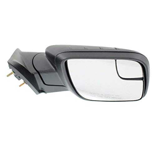 Koolzap For 11-15 Explorer Rear View Door Mirror Power Non-Heated Textured Black Right Side