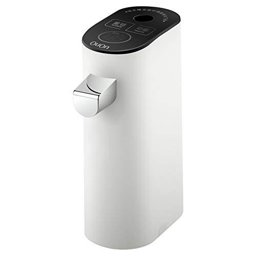 NOBLJX Tragbarer Wasserspender-Reise 3 Sekunden heißer Wasserkocher-geeignet für Reisebüro Zuhause-klein faltender Touch-Stil-6-Kanal-Heizung