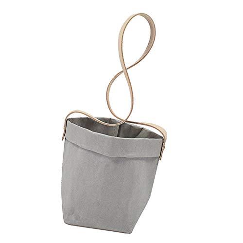 B Blesiya Panier de Jardinière Pots à Suspendre Planteur Décor - Gris 10cm