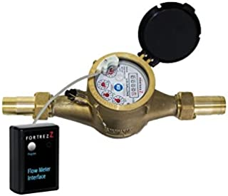 Wireless Z-WavePlus Flow Meter LF Brass 1 inch; Cert ID: ZC10-16045038