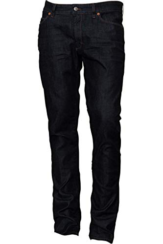 Drykorn Herren Slim-Fit-Jeans Jaw in Dunkelblau Raw 32W / 34L