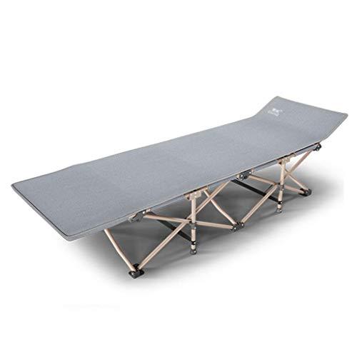 AI LI WEI Home Outdoor/klapbed Siesta bed eenpersoonsbed bureaustoel camping bed draagbare beweegbare en lichte versterkte Bracket, Stum
