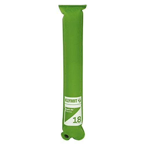 Klymit Aufblasbare Outdoor Campingmatte Luftmatratze Rapid Roll Air Pumpe (flach) New, grün