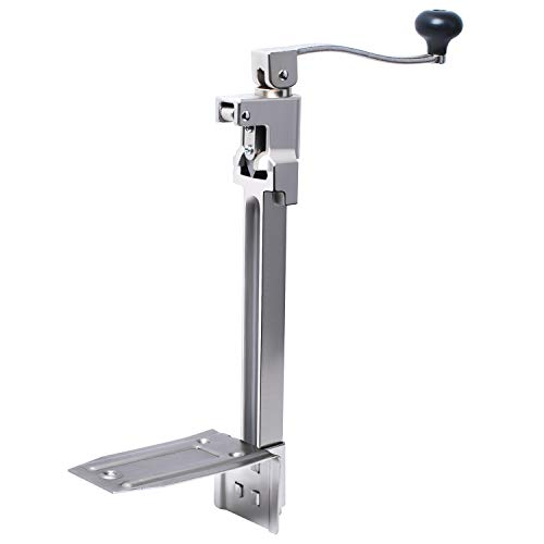 """Manual Table Can Opener Compatible with Edlund #1, Commercial Can Opener for Restaurant Large Cans Up to 11"""" Tall"""