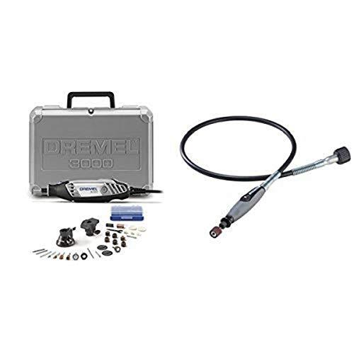 Dremel 3000-2/28 Rotary Tool Kit with Flex Shaft Attachment