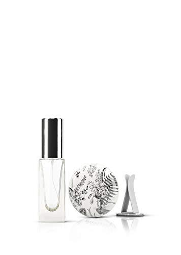 ASALEA Auto Duft Diffuser - Verwende Dein Lieblingsparfum, Duft, Aroma als Autoduft mit dem Design Duftspender. Premium Aroma Diffuser mit Air Vent Clip und Parfümzerstäuber zum selbst Befüllen!