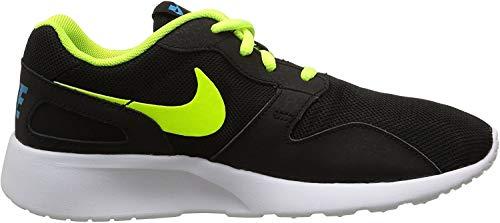 Nike Kaishi (GS) Scarpe Sportive, Ragazzo, Black/Volt/Blue Lagoon, 38.5