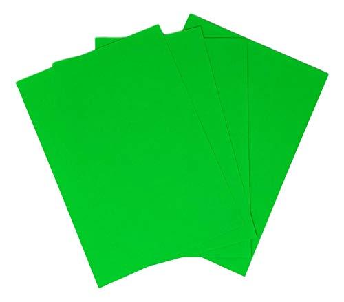 hoja de papel adhesiva 100 verde fluorescente A4 210 x 297 mm etiqueta de la placa impresora 1 fluorescente verde A4 etiqueta adhesiva GREEN