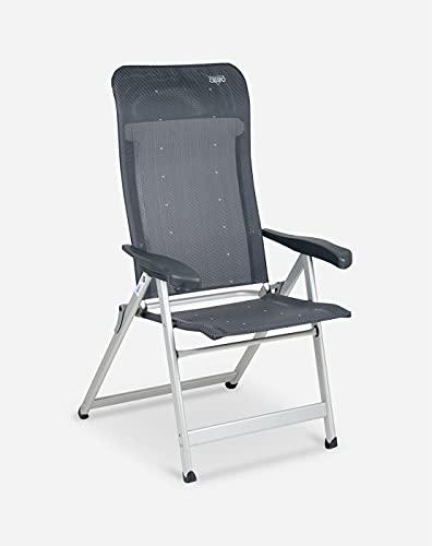 Crespo - Silla reclinable AL-237 - Gris Oscuro