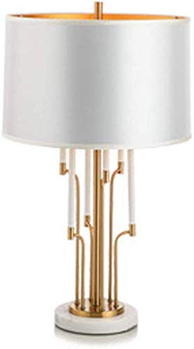 CCHWJX metaal moderne slaapkamer tafellamp decoratie bureaulamp 75 cm (29 inch) hoog warm Soft Light Eye-verzorgingslamp leven rom lamp familiehotel