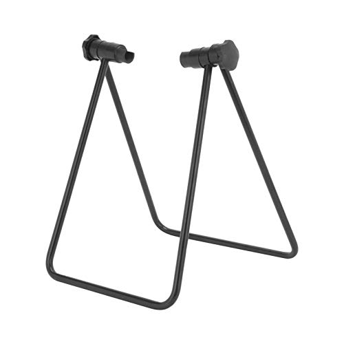 ColdShine Bicycle Adjustable Floor Stand Mountain Bike Bicycle Floor Stand Storage Display Stand Work Foldable Mechanical Repair Stand Bicycle Wheel Trim Stand