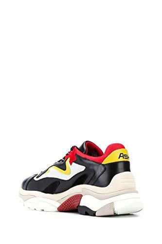 ASH UOMO Sneaker Nero/Giallo Mod. ATOMIC02 42