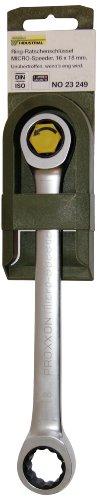 Preisvergleich Produktbild PROXXON 23249 MicroSpeeder 16 x 18 mm Doppelring Ratschenschlüssel