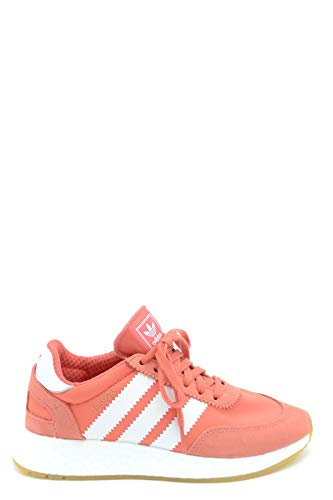 Luxury Fashion | Adidas Dames MCBI36530 Oranje Stof Sneakers | Seizoen Outlet