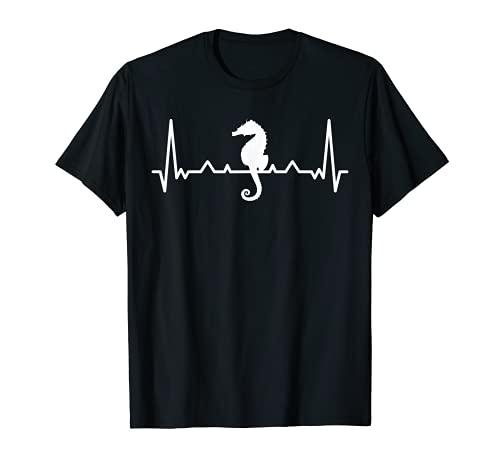 Mi corazón late por los caballitos de mar Camiseta