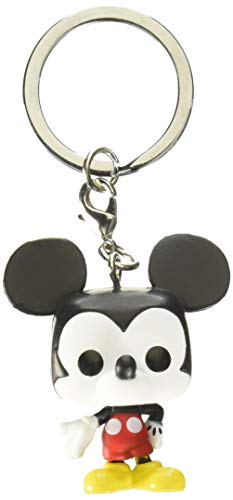 Funko Pop Keychain: Mickey Mouse - Mickey (New Pose) Collectible Figure, Multicolor