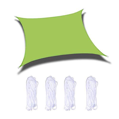 LILIS Fundas Muebles Jardin Impermeable Toldo al Aire Libre Rectangular, 98% de protección UV, 100% poliéster, toldo Ultra Resistente e Impermeable para jardín, Piscina, terraza. (Size : 2x4m)