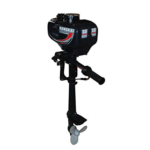 Purchase LOYALHEARTDY19 3.5 Hp Outboard Motor,2 Stroke 3.5Hp Outboard Motor 40Cm Shaft Boat Engine W...