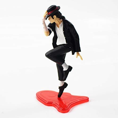 Decoración para tarta para King of Pop–Michael Jackson–negro o blanco