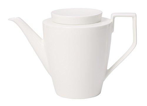 Villeroy & Boch (UK) Ltd, uk home, VBKH4 1,2 L Kaffeekanne La Classica Nuova aus Premium Bone Porzellan in Weiß