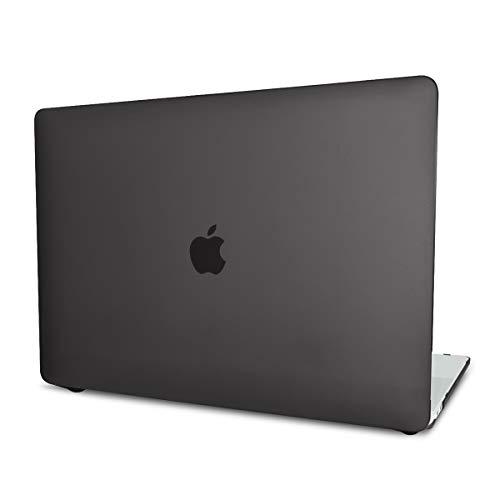 PETERONG Funda Dura Case para MacBook Pro 15 Pulgadas 2019/2018/2017/2016 (Modelos A1990/A1707), Ultra Delgado Carcasa Rígida Protector de Plástico Cubierta para MacBook Pro 15 Pulgadas(Negro)
