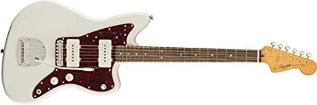 Squier by Fender Classic Vibe 60's Jazzmaster Electric Guitar - Laurel - Olympic White