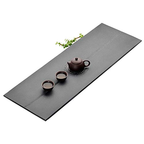 Amazing Deal Natural Wujinshi Tea Tray Simple Stone Chinese Kung Fu Tea Tray Japanese Tea Making Tea...