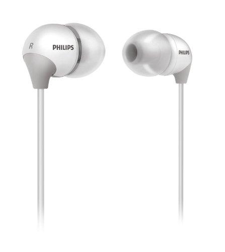 Philips SHE3581 InEar-Kopfhörer mit austauschbaren Kappen weiß