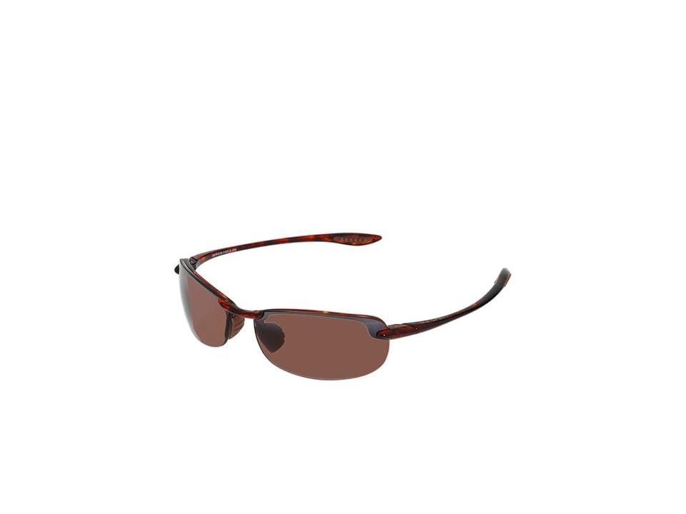 Maui Jim Makaha (Tortoise/Maui Rose Lens) Sport Sunglasses