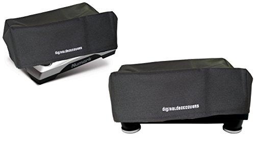 digitaldeckcovers Plattenspieler Staubschutz für Numark TTUSB/TT1610/TT1625/TT200/TT500; Stanton TT200/STR8-100/STR8-90/STR8-80/STR8-30/STR8-20; Ion ITTUSB Plattenspieler Schutzhülle