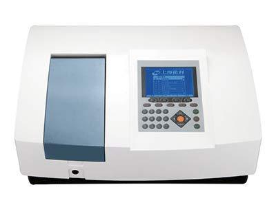 CGOLDENWALL Spectrophotomètre UV-Vis de type UV1810 à balayage avec système d'exploitation ARM Longueur d'onde: 190-1100nm Bande passante: 1nm