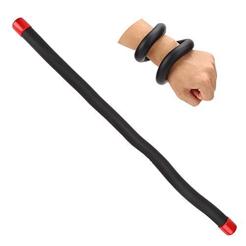 Alomejor Krafttraining Armband Fitness Handgelenk Gewichte Sets für Armband Arm Übung Sport Krafttraining(Black)