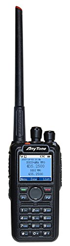 AnyTone AT-D868UV GPS Version II Updated firmware Upgraded 3100mAh Battery Dual Band DMR/Analog 144...