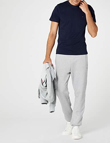 Hilfiger Denim Herren T-Shirt Original cn knit s/s, Gr. Large, Blau - 6