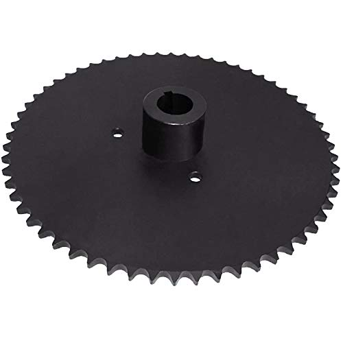 """Octopus Go Kart Live Axle Sprocket 60 Tooth Fits 40/41/420 Chain with 1"""" Bore 1/4' Key Way - Sprocket"""
