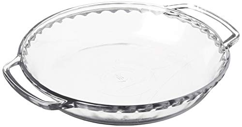 "Anchor Hocking Fire-King 9-Inch Pie Baking Dish, 1.75"" Deep"